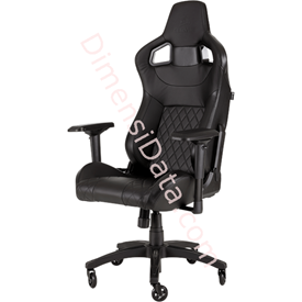Jual Chair Gaming CORSAIR T1 RACE 2018 [CF-9010011-WW] Black-Black